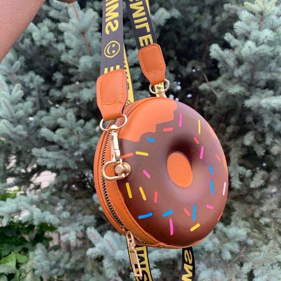 Brown Donut Bag